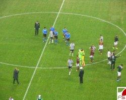 Milan - Udinese saluti finali
