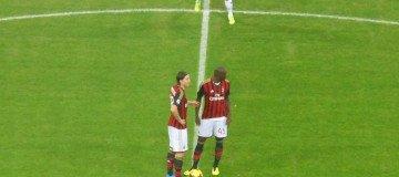 Montolivo, Balotelli, Milan-Fiorentina