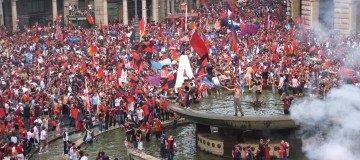 Genoa tifosi in piazza, Ivan Lopez