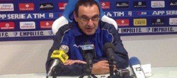 Sarri, allenatore Empoli che affascina il Milan