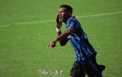 Gravillon esultanza Inter-Atalanta