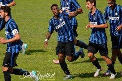 Gravillon esultanza Inter Primavera