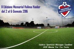 Memorial Halima Haider 2016