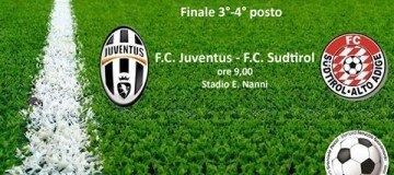 Juventus-Sudtirol Torneo Pecci