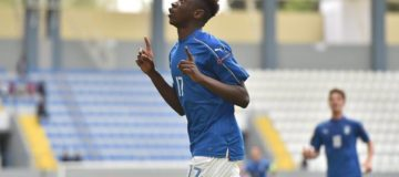 Moise Kean, Italia-Serbia U17 2-1