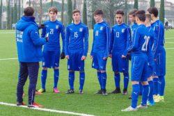 Italia Under 15 amichevole in Romania