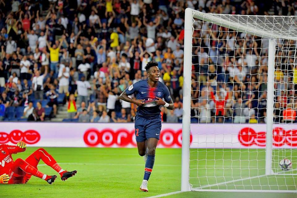 Maglia Paris Saint-Germain Timothy WEAH