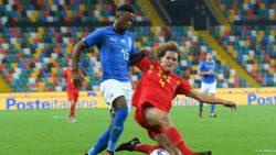 Italia Under 21: la formazione di Di Biagio gioca una buona partita ma viene punita a pochi minuti dalla fine da un gol di Amuzu.