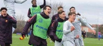 Youth League: alla formazione della capitale bastava un pareggio per assicurarsi il secondo posto, ma sono arrivati direttamente i tre punti.