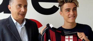 Riccardo Oddi si sta mettendo in mostra con la formazione Under 17 del Milan ed è sicuramenta un ragazzo da monitorare per il futuro.